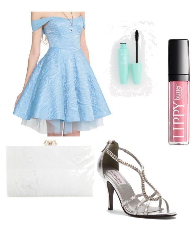 """Cinderella"" by taylorbest921 on Polyvore featuring Disney, Dyeables and Charlotte Olympia"