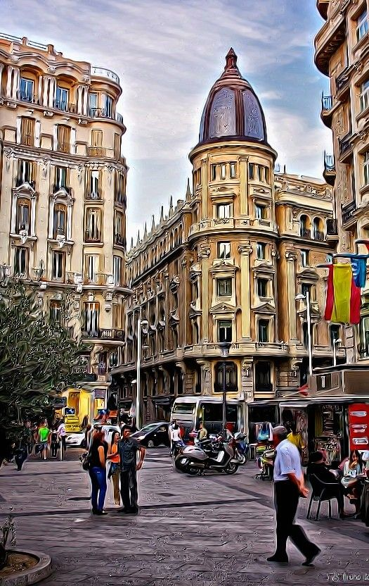 HDR DE EDIFICIOS DE MADRID FOTOGRAFÍAS DE PIPI