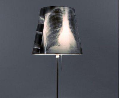 X ray Lamp | Recycled lamp, Light shades, Lamp shades