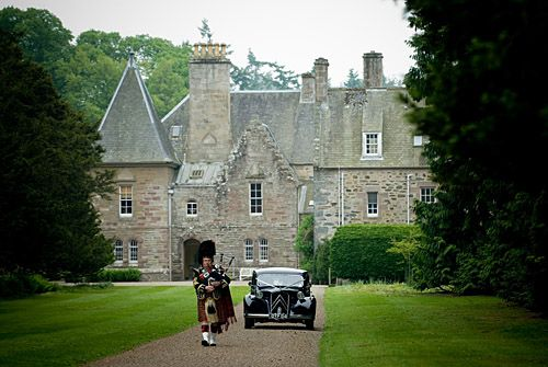 Weddings Scottish Private Gardens Murthly Castle