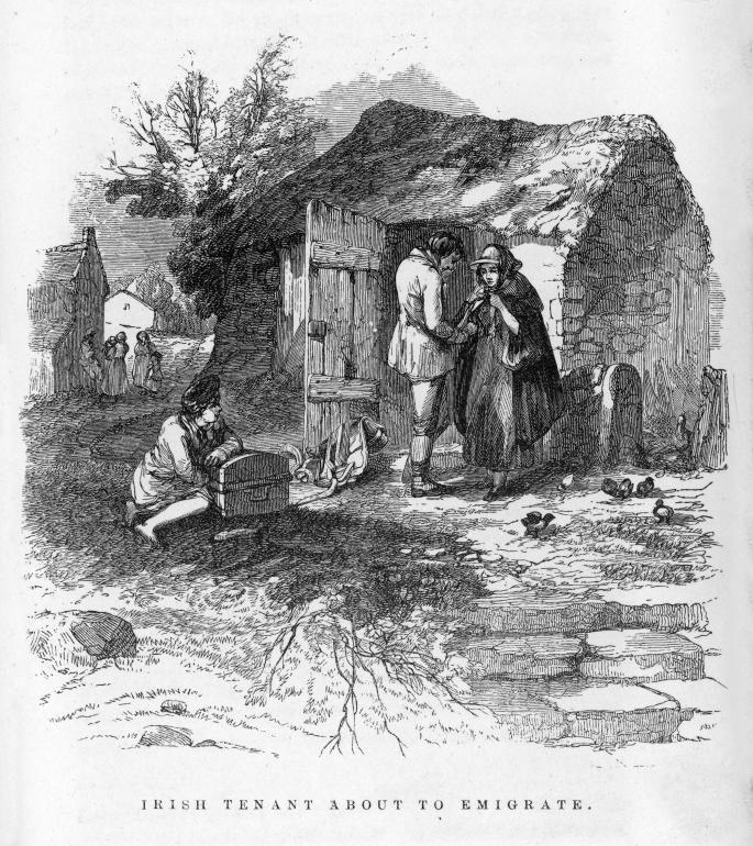 Glenties Ireland 1800s
