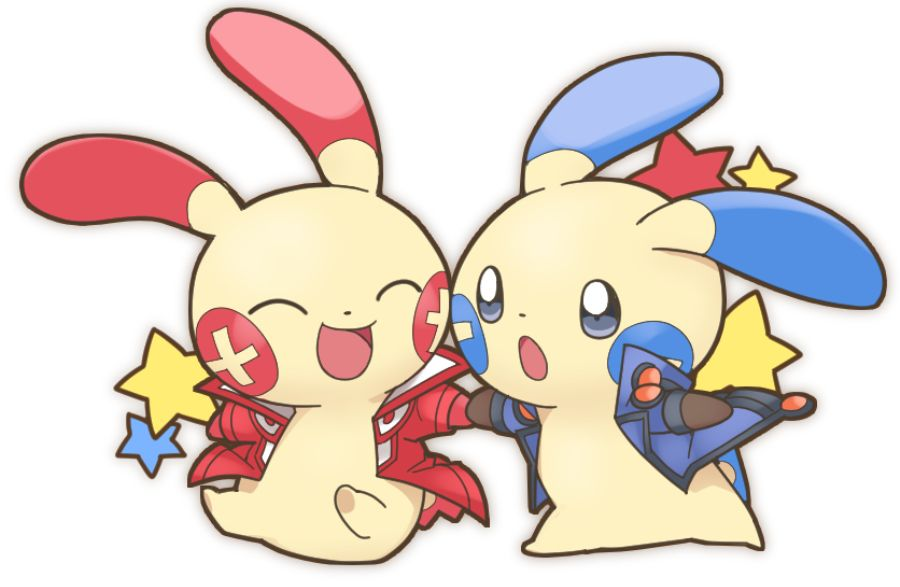 95472d131d Plusle and Minun