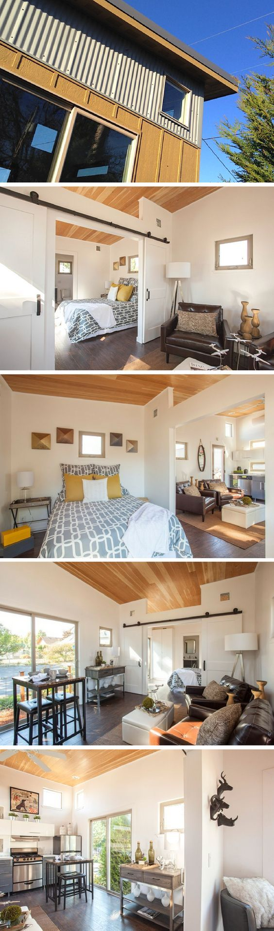 The Mini.Box: a 400 sq ft home from IdeaBox with a stunning layout.