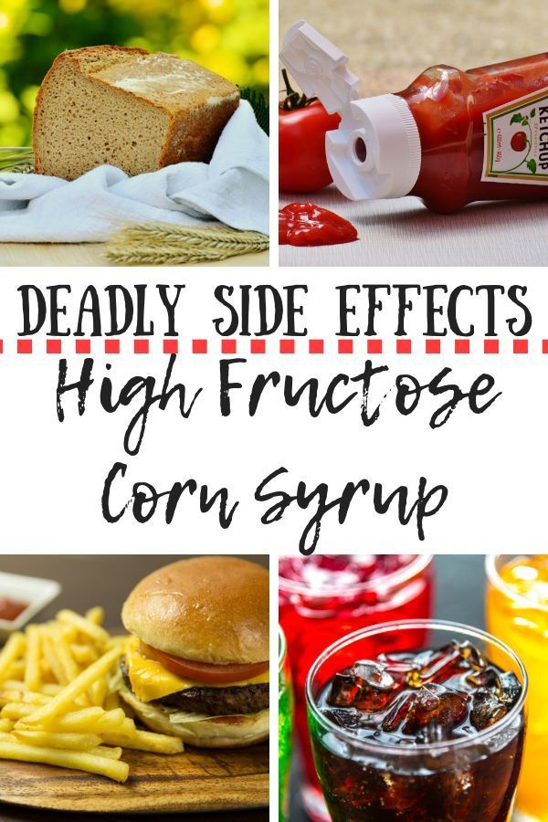 Dangerous Side Effects of High Fructose Corn Syrup High