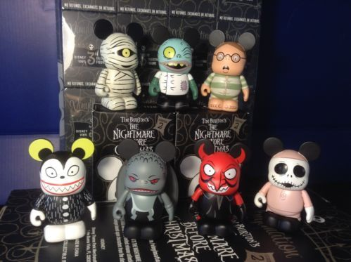 disney 3 vinylmation nightmare before christmas 2 set of 7 pieces no chaser - A Nightmare Before Christmas 2