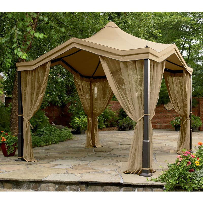Peaked Top Gazebo Replacement Canopy Garden Winds Gazebo Replacement Canopy Gazebo Gazebo Canopy