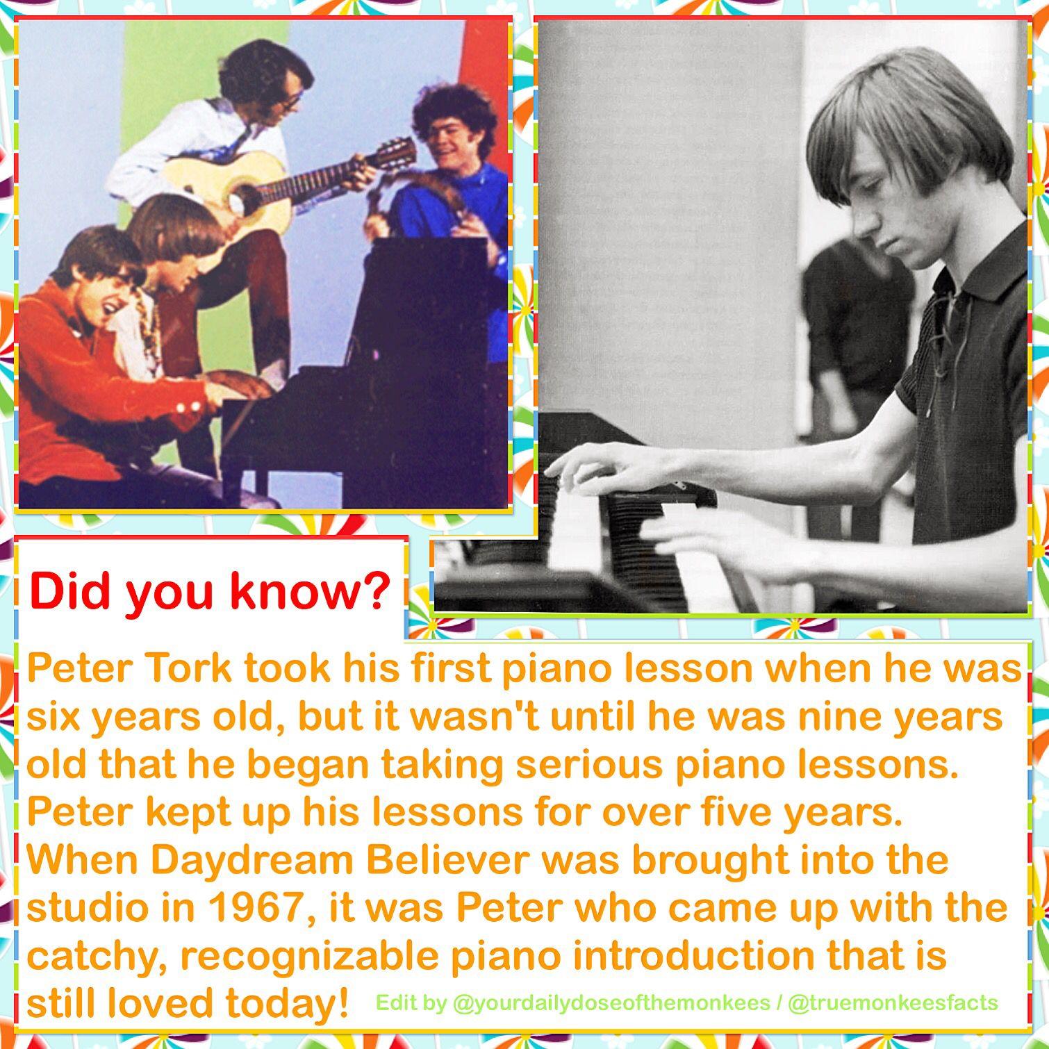 Peter Tork Bookmark