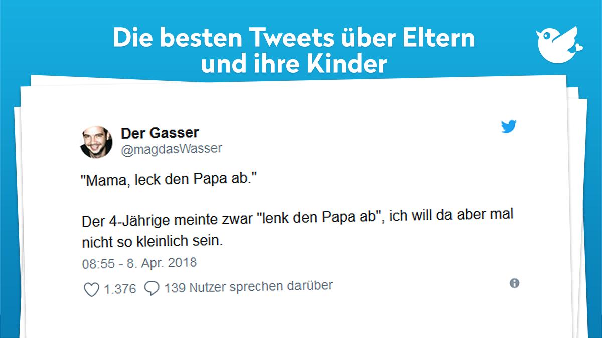 11 witzige Tweets über Eltern und ihre Kinder ...