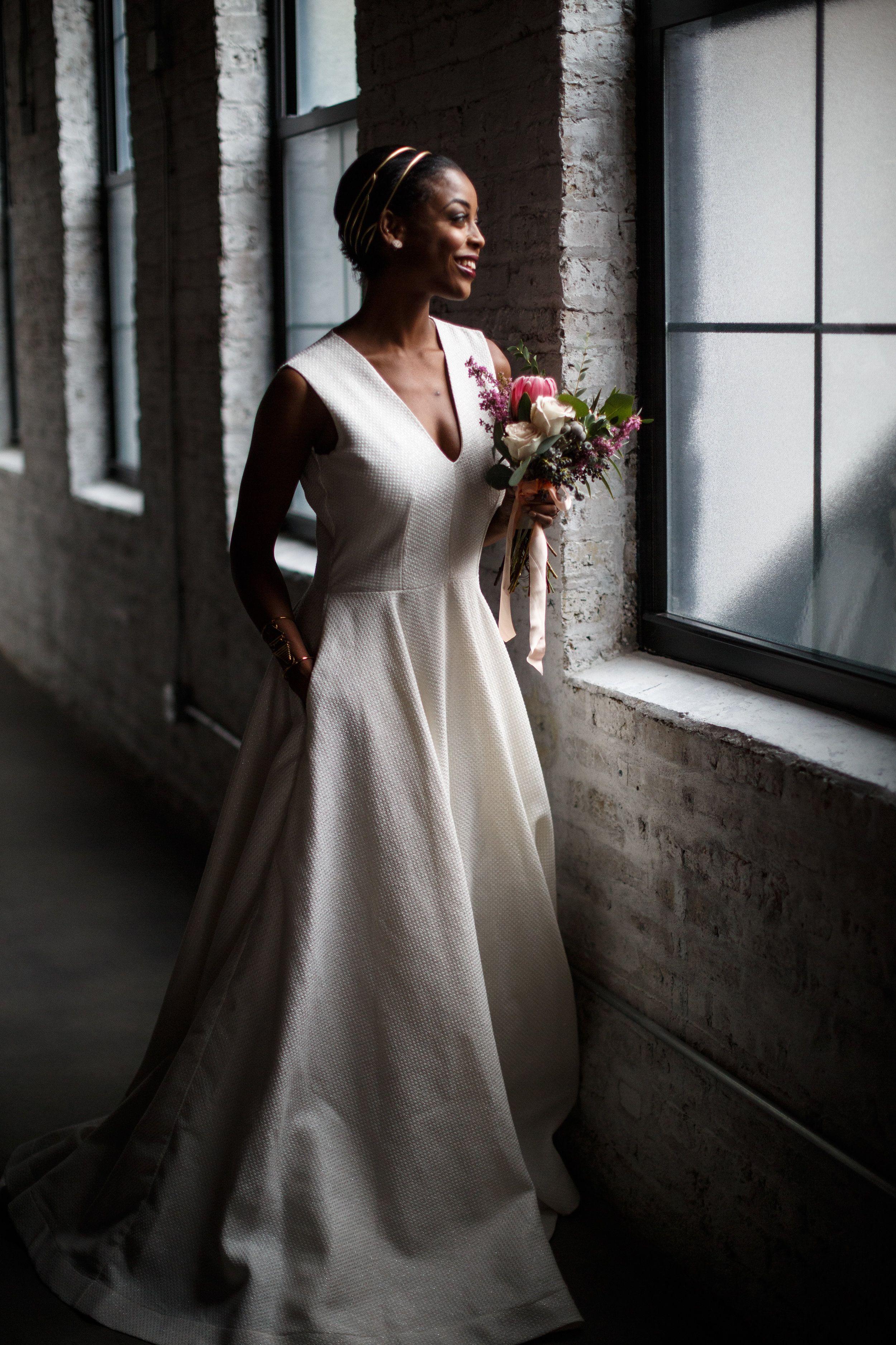 Chicago wedding dresses  Wedding dresses with pockets  Chicago Weddings  Pinterest