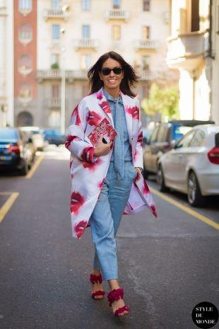 Viviana Volpicella Street Style Street Fashion by STYLEDUMONDE Street Style Fashion Blog