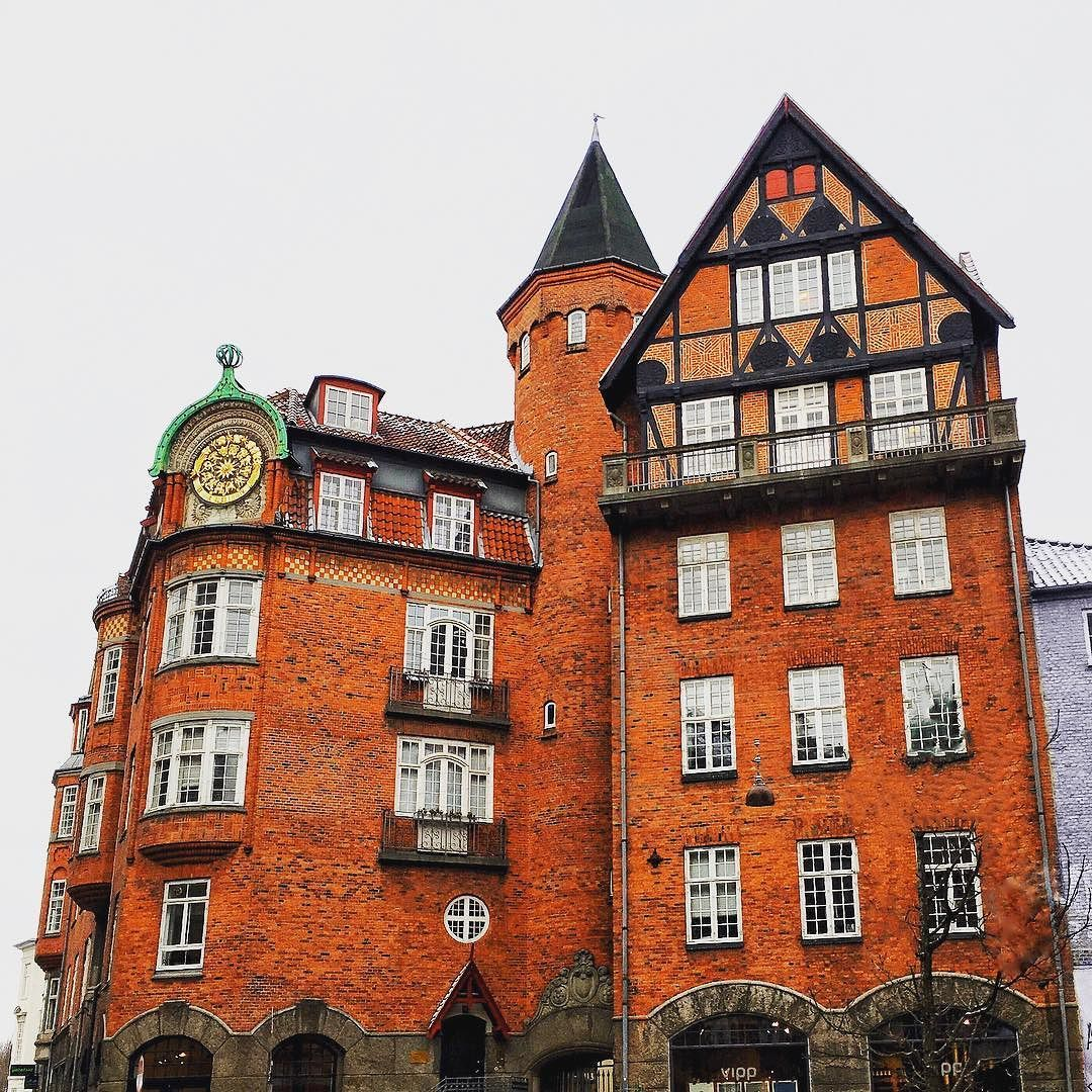 Granite City Apartments: A Building Close To Strøget Copenhagen Denmark. The