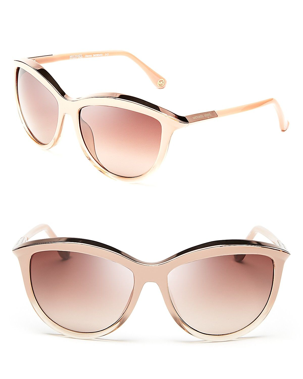 f13a78c987f Michael Kors Diana Cat Eye Sunglasses