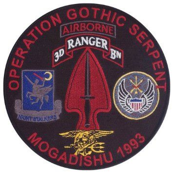 Operation Gothic Serpent Google Search Us Somalia Restore Hope