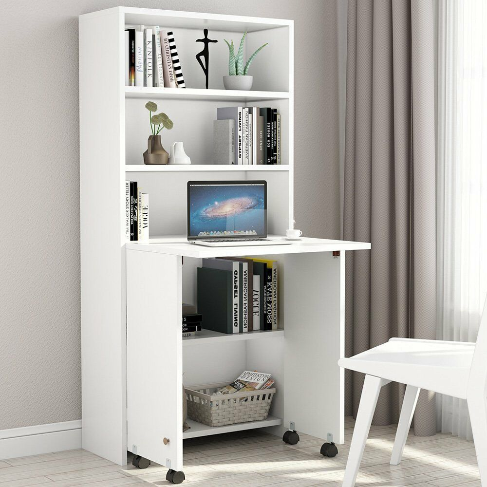 Commendable Small Computer Desk With Bookshelf Armoire Desk Bookshelf Desk Desk Furniture