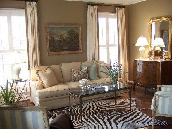 Benjamin moore woodstock tan rooms by color neutral for Rich neutral paint colors
