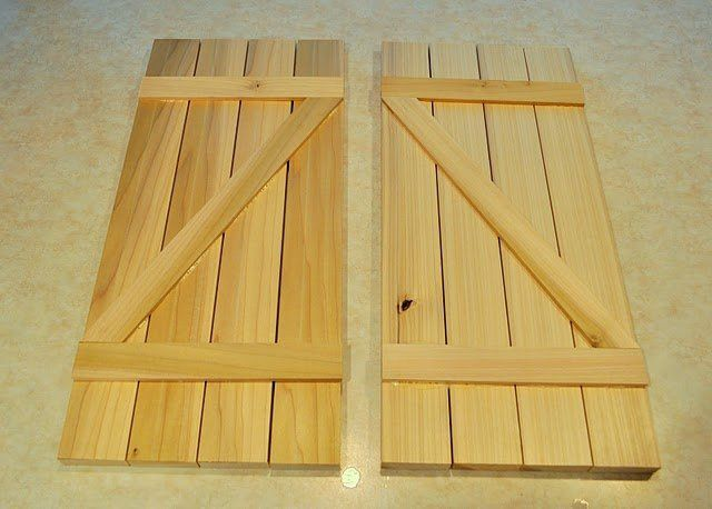 Make Your Own Barn Door Shutters Followpics Interior