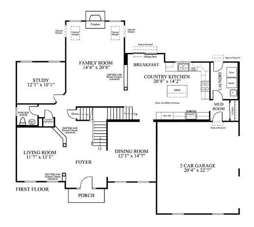Architectural Floor Plan Example Tony Deoliveira