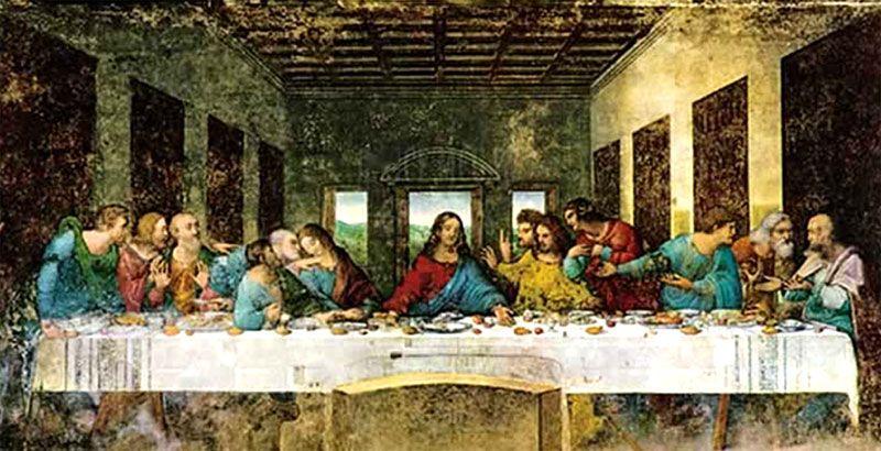 La Famosa Ultima Cena De Da Vinci Renaissance Art Renaissance Paintings Art