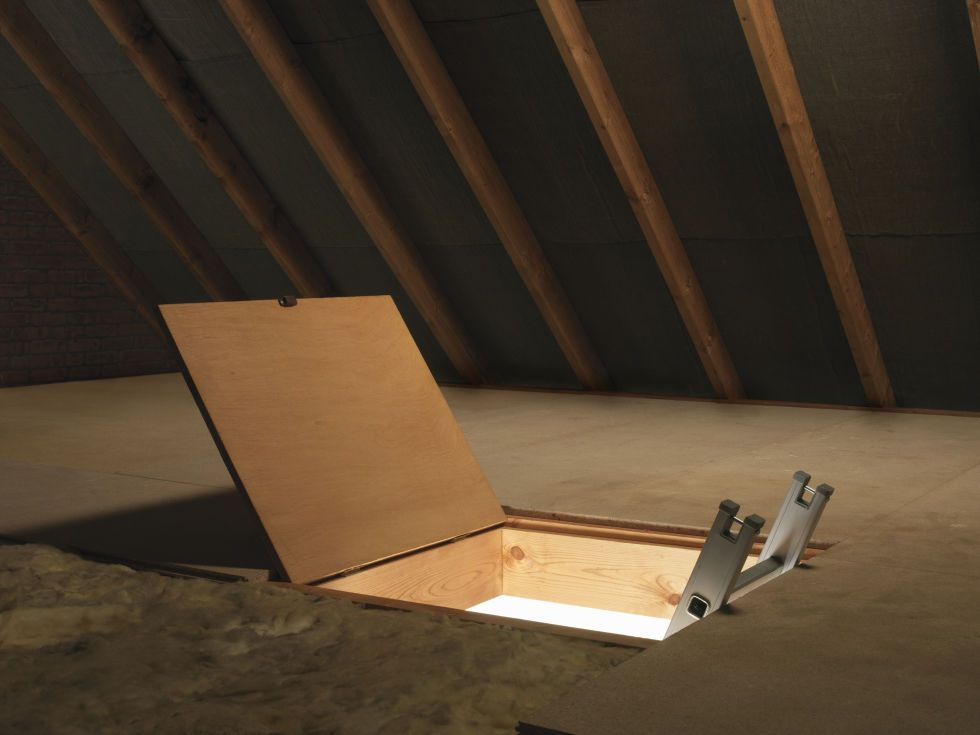 17 Things In Your Home You Didn T Realize Had Names Attic Ladder Attic Flooring Attic Stairs