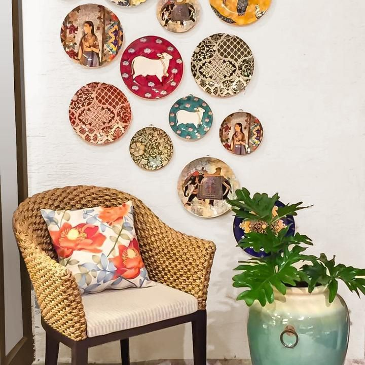 Decorative Plates To Hang On Wall.Our Exclsuive Collection Of Ceramic Wall Plates Is