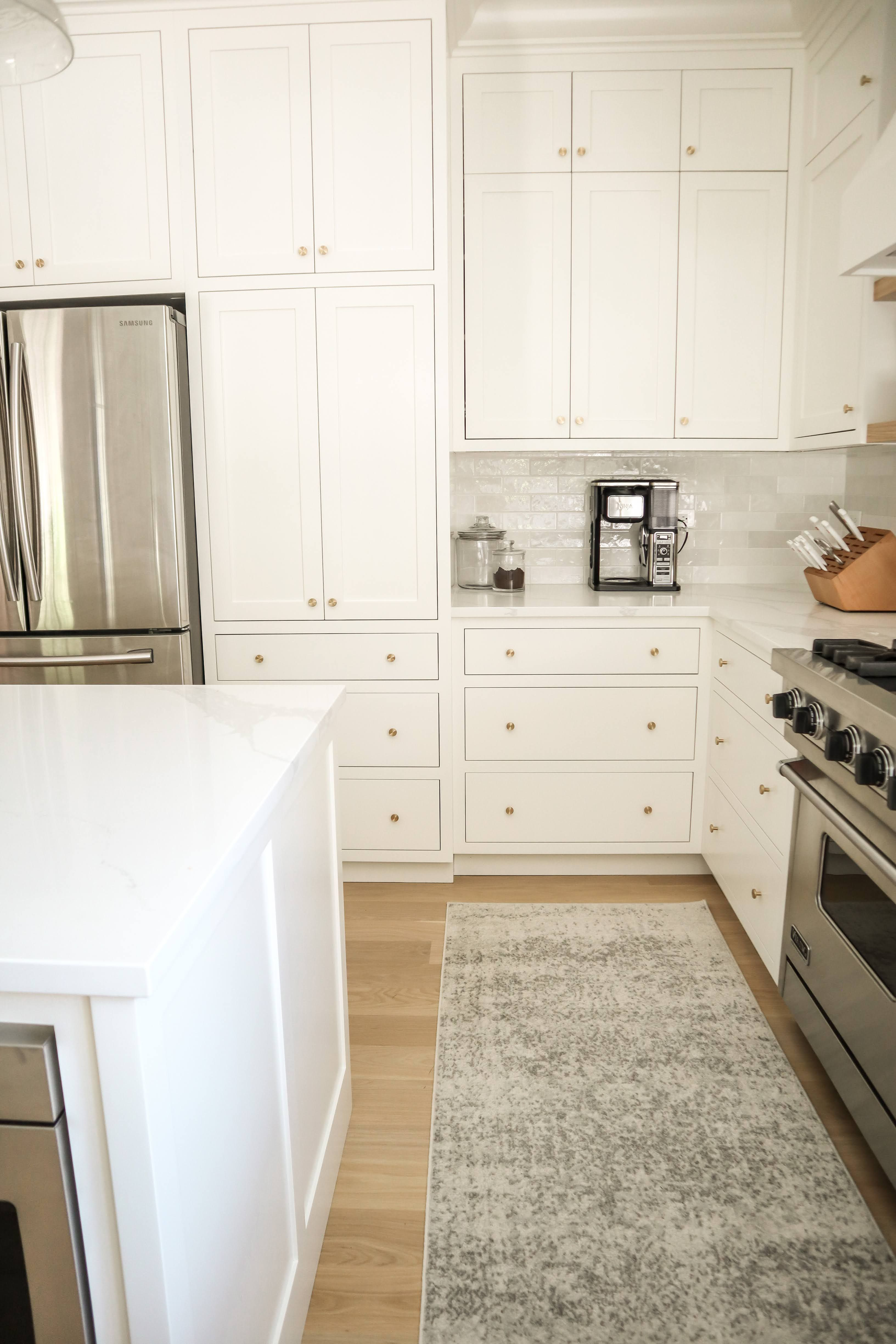 Our Kitchen Reveal In 2020 Inset Cabinets Shaker Style Cabinets Kitchen