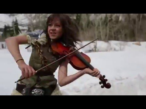 Skyrim   Lindsey Stirling  Peter Hollens