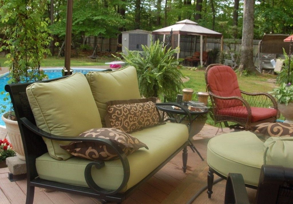 Patio Cushion Replacement Covers Outdoor furniture