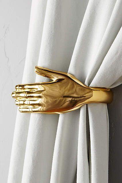Handheld Curtain Tieback Easy Home Decor Home Decor Accessories Handmade Home Decor