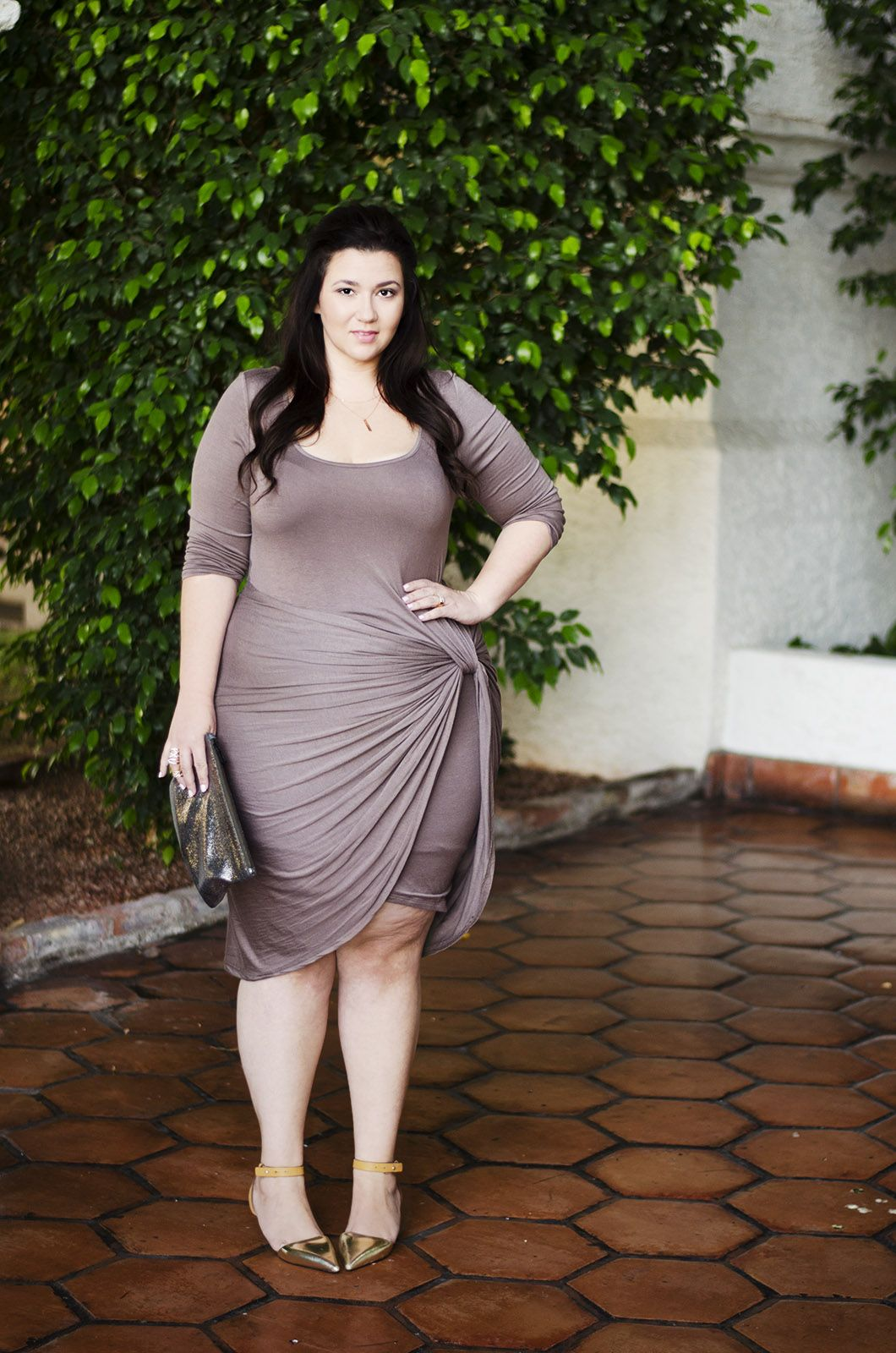 Crystal Coons Plus Size Dress Affordable Cheap Gorgeous Work Dress