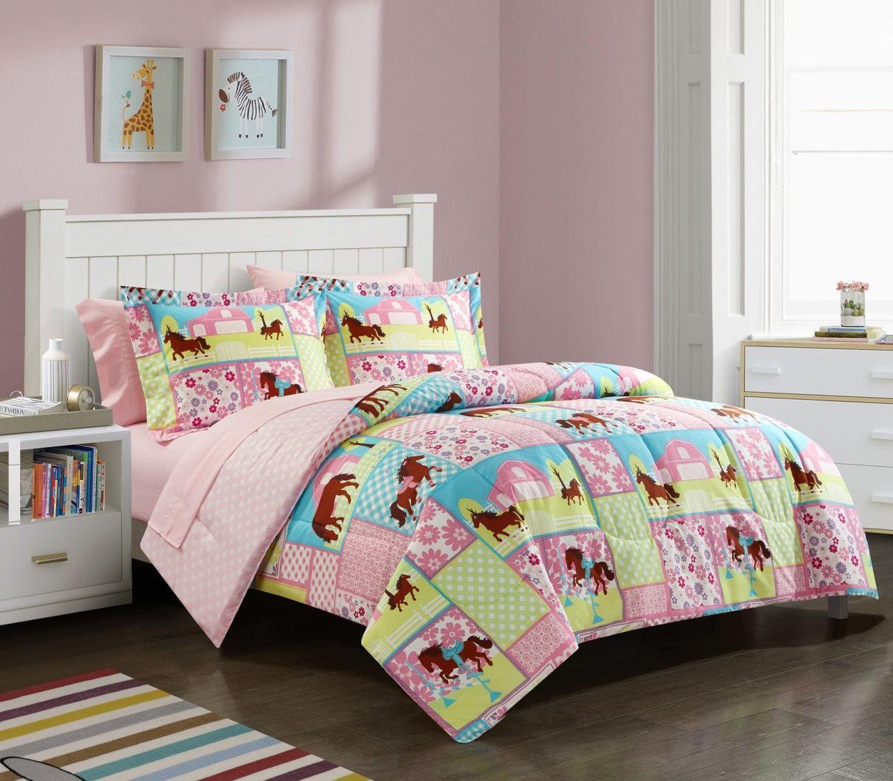 Home In 2020 Kids Bedding Sets Bed In A Bag Bedding Set
