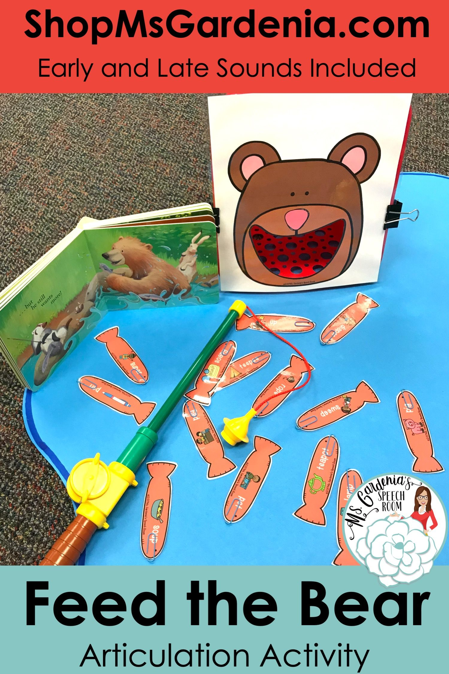Articulation Activity Feed The Bear The Big Bundle