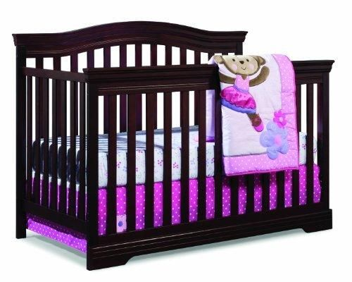 Broyhill Kids Bowen Heights 4-in-1 Convertible Crib Cherry