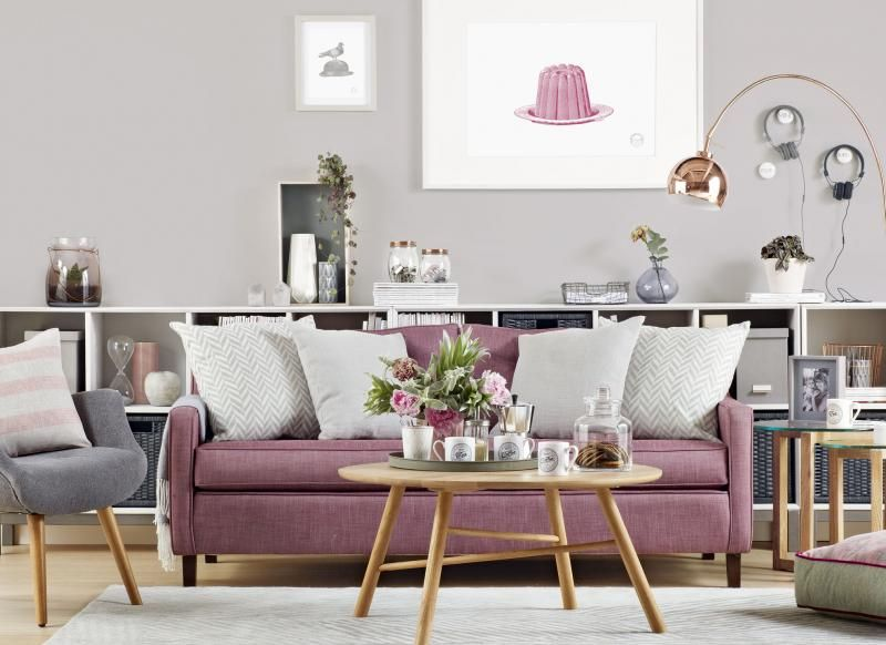 Devise A Designer Living Room On Any Budget Pink Living Room