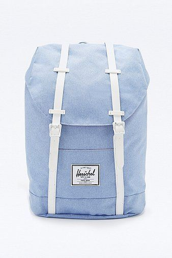 4799e412f8 Herschel Supply co. Retreat Chambray Backpack in Blue in 2019