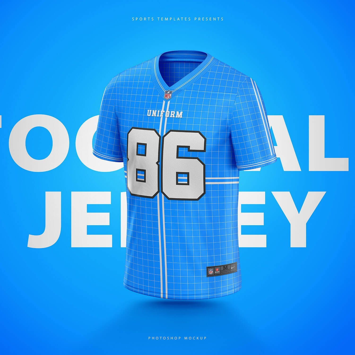 Download Nfl Football Jersey Photoshop Template Nfl Football Jersey Football Jerseys Nfl Football