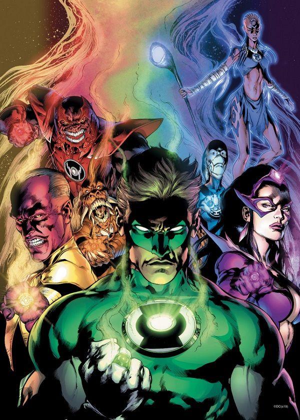 DC Comics Green Lantern Displate Posters