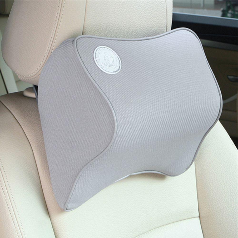 Hot poliéster cómodo reposacabezas del vehículo reposacabezas cuello