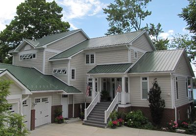 Tin Roofs For Houses Colors Commercial Metal Roofing