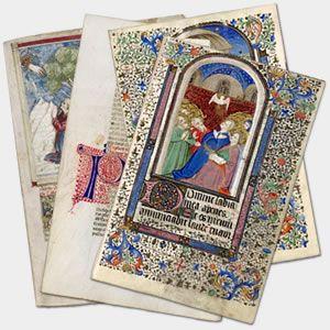 digital library of illuminated manuscripts
