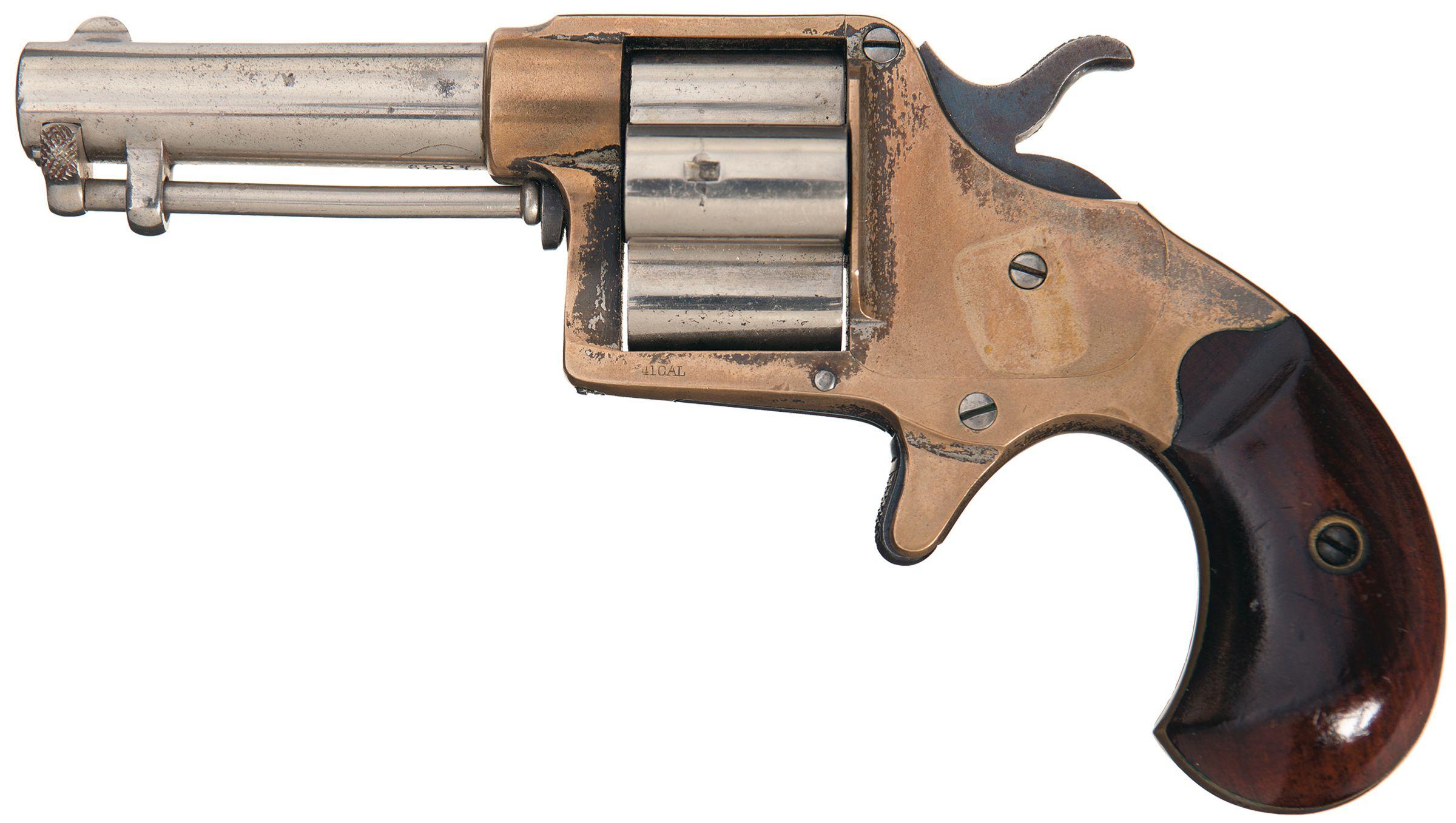 Fine Colt House Model Cloverleaf Revolver cal 41 RF | Revolvers