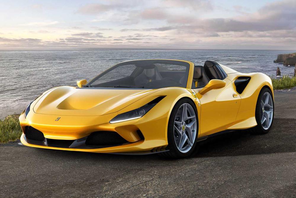 Ferrari Transforms Their 710hp F8 Into A 211mph Supercar Convertible New Ferrari Super Cars Ferrari