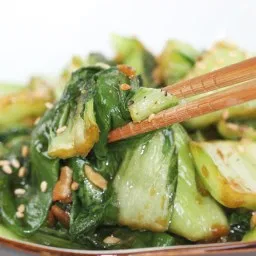 Sauteed Ginger Bok Choy Recipe Stir Fried Chinese Green Cabbage Recipe Bok Choy Recipes Vegetable Dishes Chinese Vegetables