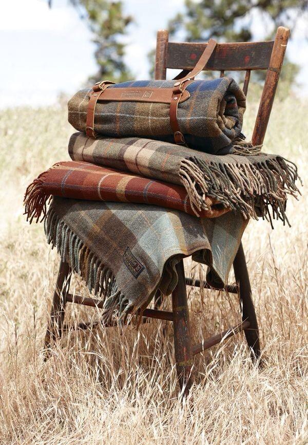 Farmgirl Style ~ Plaid ~ Wool Throws