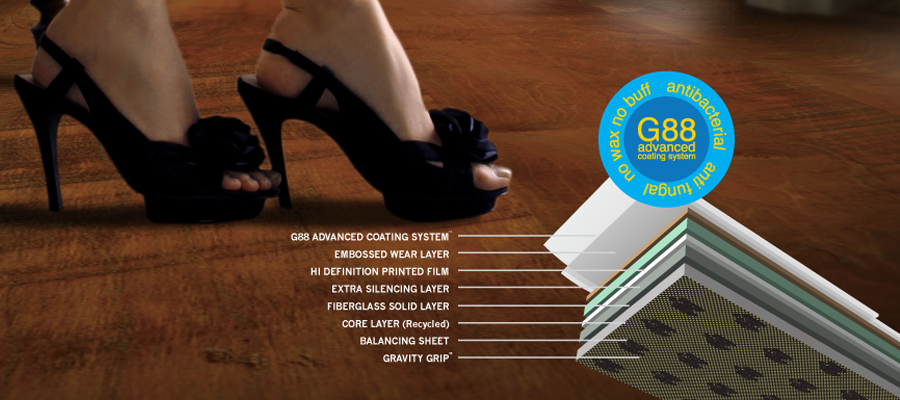 Elevation Floors Floating Resilient Gravity Grip