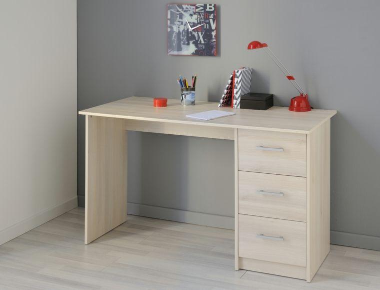 mesa escritorio diseño simple Habitación para niños Pinterest