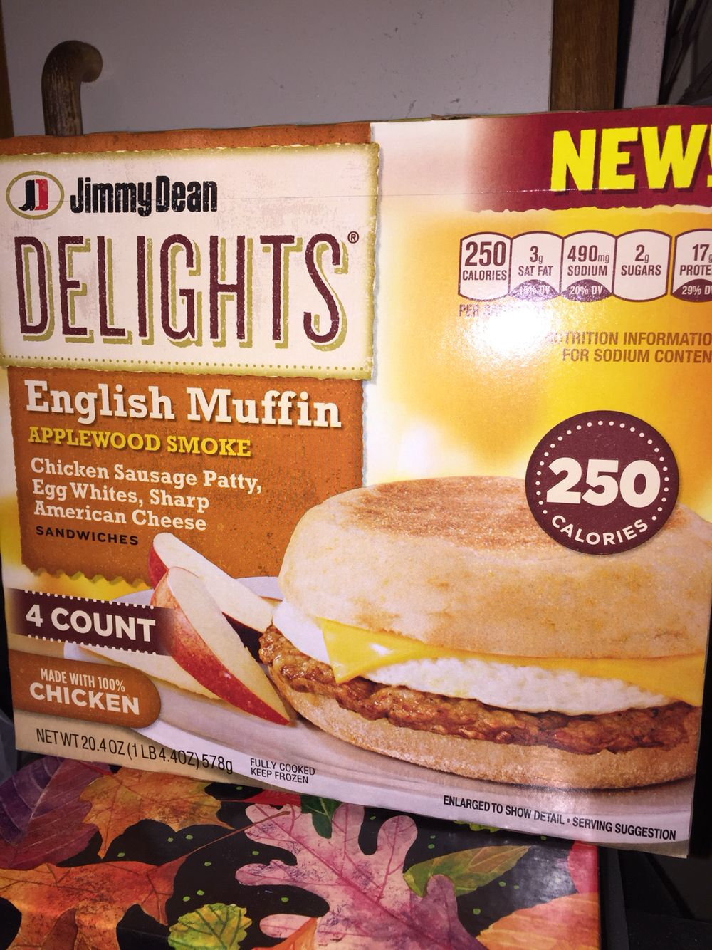 Jimmy dean delights english muffin applewood smoked