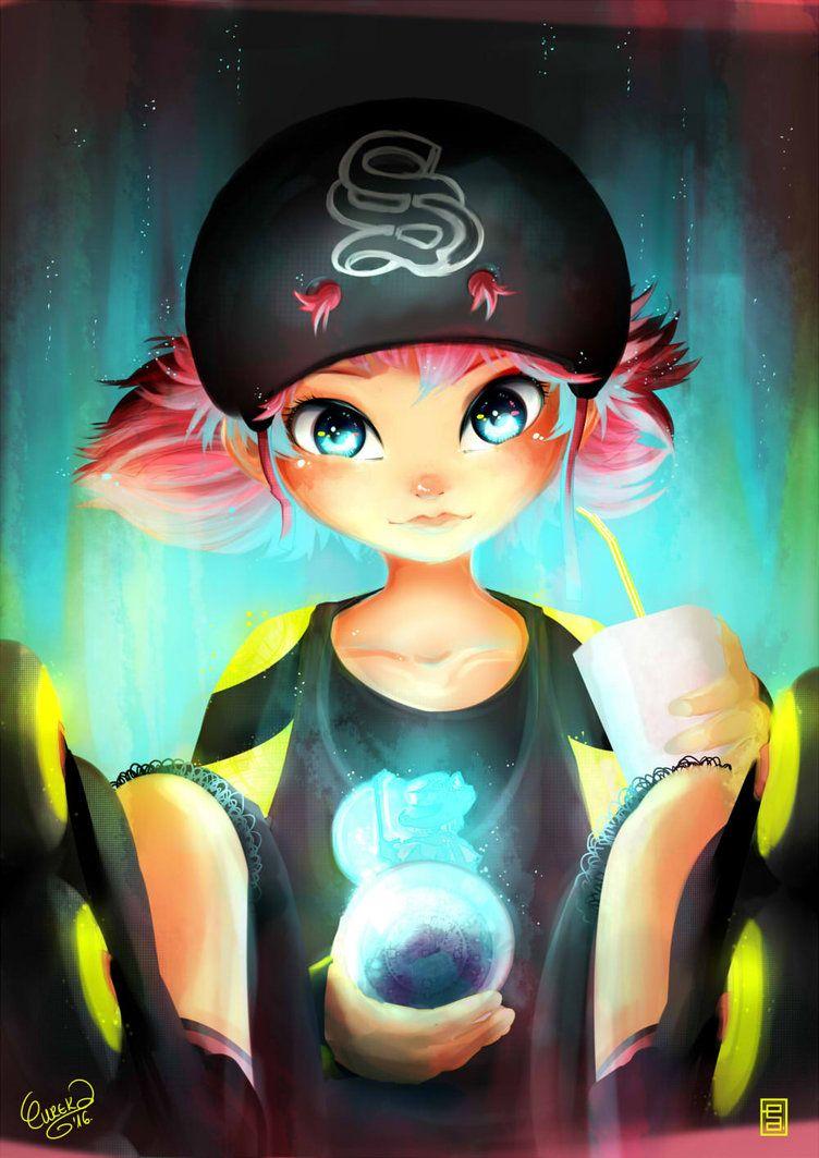 Alix looking cute! (by EurekaRysuje, Miraculous Ladybug