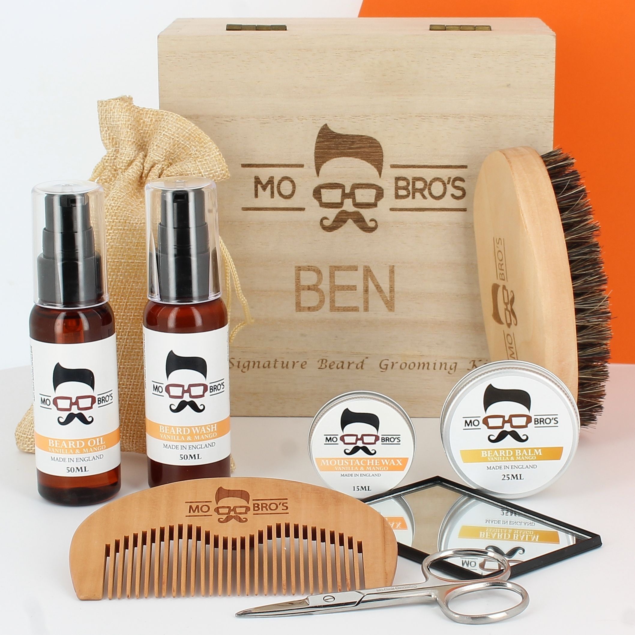 Personalised Signature Beard Care Box