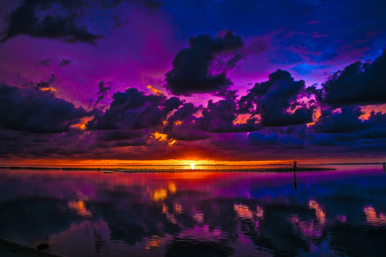 Purple Sunrise Eastpoint Florida https://www.facebook.com/jfreemanphotos