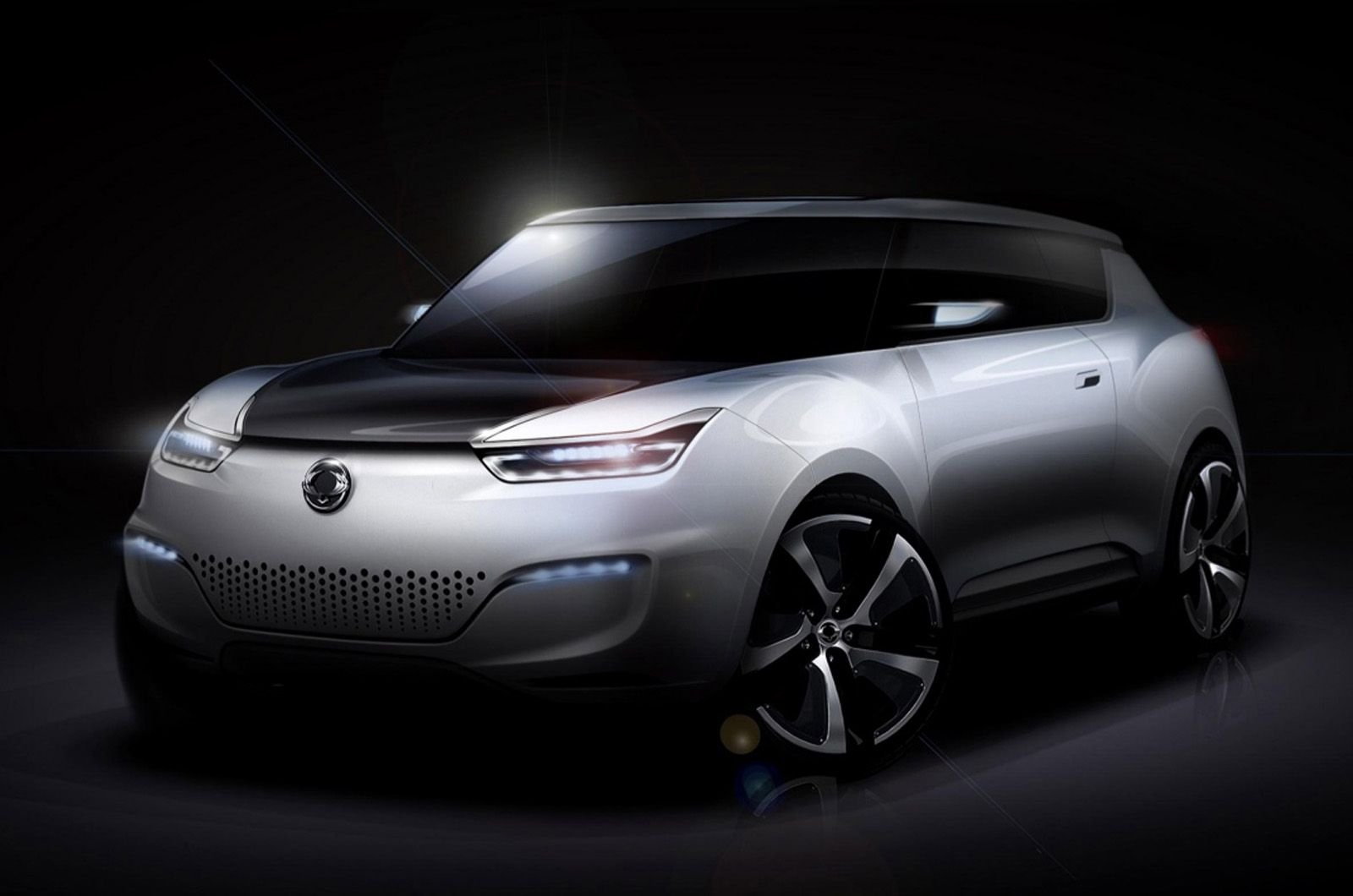 SsangYong e-XIV electric car concept